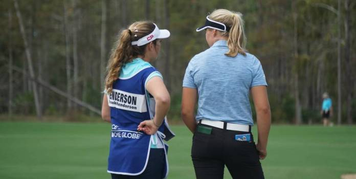 Brittany and Brooke Henderson CME Group Tour Championship 2018 - Photo by Ben Harpring