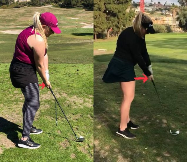 Heather King - space in your golf swing - it's all in the hips